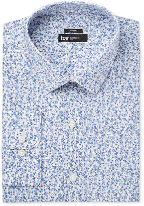 Bar III Men's Slim-Fit Stretch Easy Care Dandy Floral Dress Shirt, Only at Macy's $65 thestylecure.com