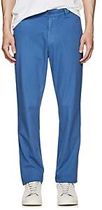 Barneys New York MEN'S COTTON TWILL SLIM CHINOS-DK. BLUE SIZE 28