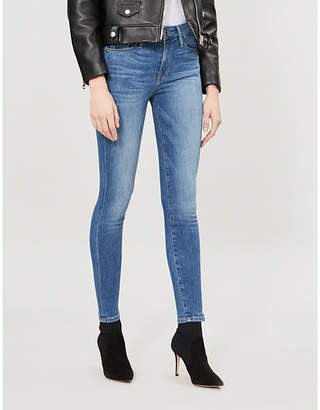 Good American Good Legs pockets-detail skinny high-rise jeans