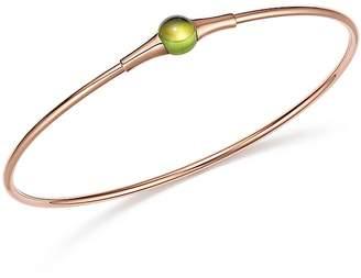 Pomellato M'Ama Non M'Ama Bracelet with Peridot in 18K Rose Gold
