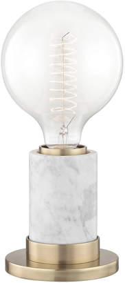 Lulu & Georgia Jolina Table Lamp, White Marble