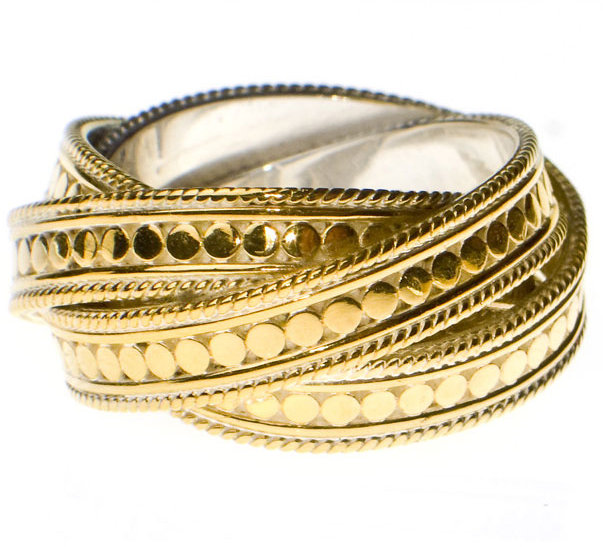 Anna Beck Timor Twisted Ring Women