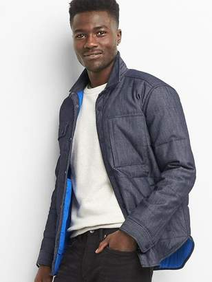 Gap Performance denim shirt jacket