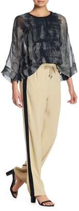 Go Silk go > by GoSilk Go Quite a Contrast Silk Pants