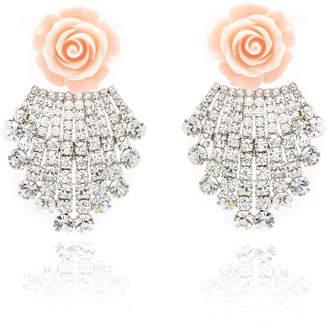 Dannijo Rose Earrings