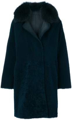 Guy Laroche collared coat