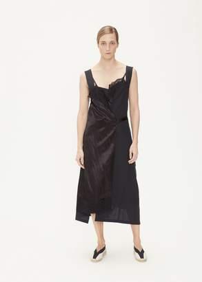 Junya Watanabe Mohair/Cupro Satin Split Dress
