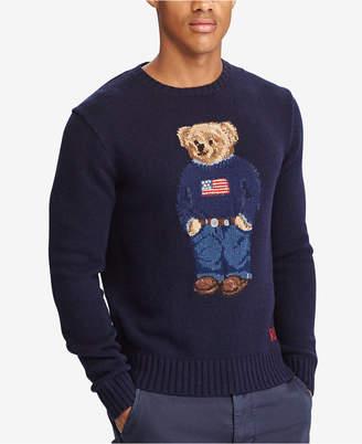 Polo Ralph Lauren Men's Iconic Polo Bear Sweater