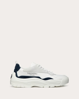 Valentino Garavani Uomo Leather Gumboy Sneaker Man White 45.5