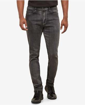 Kenneth Cole New York Kenneth Cole Men's Grey Smoke Skinny Jeans