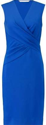 Diane von Furstenberg Leora Wrap-Effect Stretch-Crepe Dress