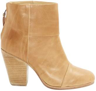 Rag & Bone Camel Leather Ankle boots