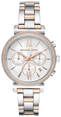 Michael Kors Sofie Chronograph Bracelet Watch, 39mm