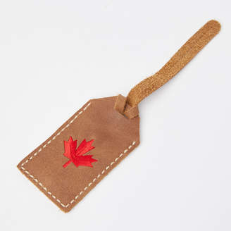Roots Maple Leaf Luggage Tag Tribe
