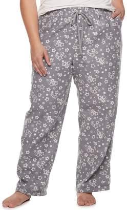 11818dbc1b0c0 Sonoma Goods For Life Plus Size SONOMA Goods for Life Flannel Pajama Pants