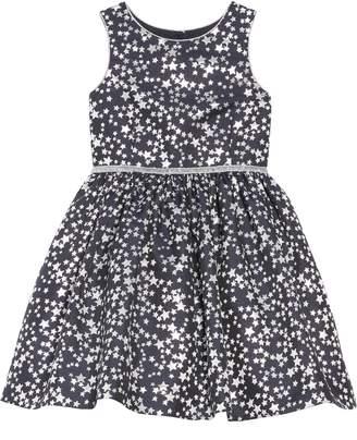 Pippa Pastourelle by & Julie Metallic Star Brocade Dress
