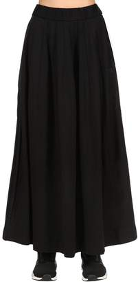 Y-3 Cotton Blend Track Skirt