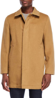 Hart Schaffner Marx Douglas Single-Breasted Wool Coat