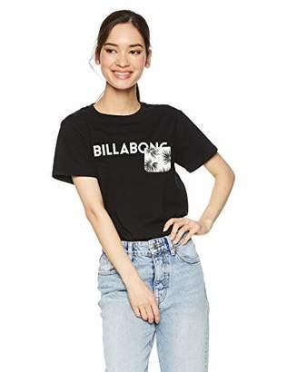 Billabong (ビラボン) - [ビラボン] [レディース] 半袖 プリント Tシャツ (テイラードFIT)[ AJ013-211 / SS LOGO TEE ] おしゃれ ロゴ SSL_マルチカラー US M (日本サイズM相当)