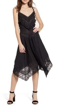 Zadig & Voltaire Rilli Handkerchief Hem Dress