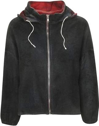 F Cashmere f cashmere Hooded Zipped Cardigan