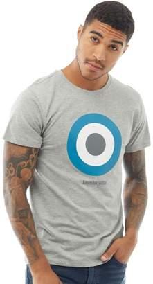 Lambretta Mens Logo T-Shirt Marl Grey