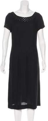 Sonia Rykiel Embellished Midi Dress