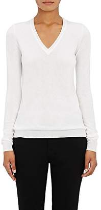 Barneys New York Women's Cashmere V-Neck Sweater $450 thestylecure.com