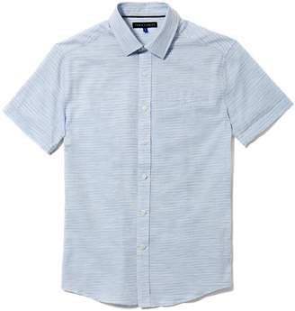 Vince Camuto Mens Dobby Short-sleeve Shirt