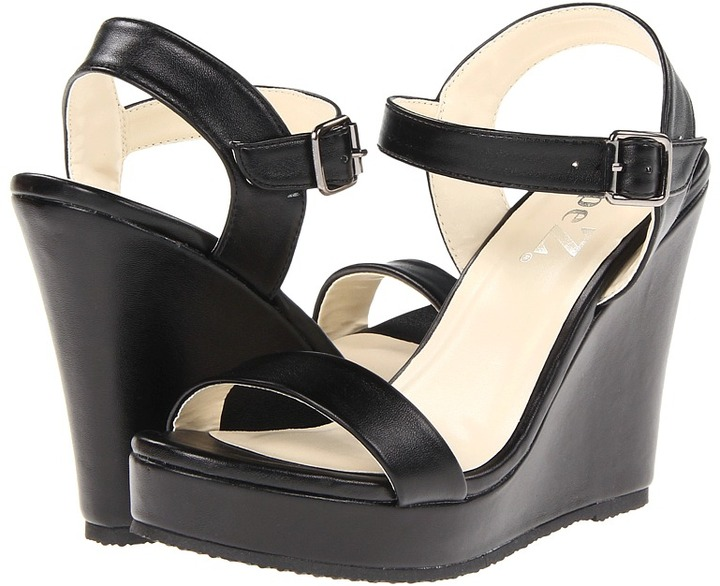 Type Z Nami (Black Smooth) - Footwear