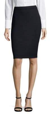 St. John Knitted Pencil Skirt