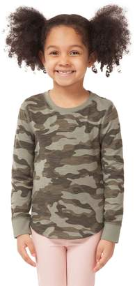 Dex Little Girl's Camouflage Cotton-Blend Top