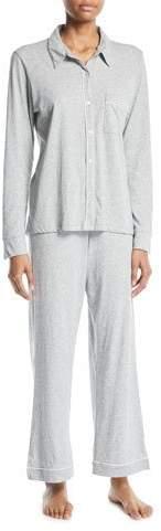 Skin Penelope Classic Long Pima Cotton Pajama Set