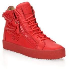 Giuseppe Zanotti Triple Wing High-Top Sneakers