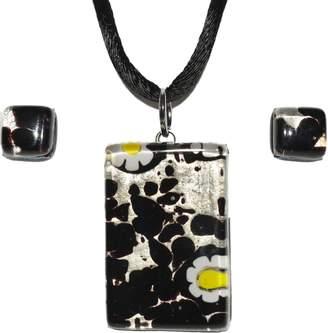 Murano Artisans Glass Necklace Set