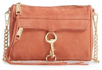 Rebecca Minkoff 'Mini Mac' Convertible Crossbody Bag - Orange $195 thestylecure.com