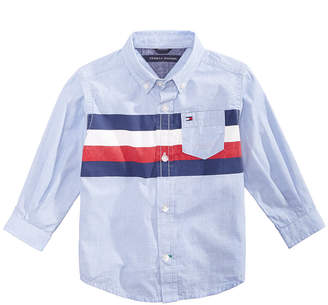 Tommy Hilfiger Baby Boys William Striped Cotton Shirt