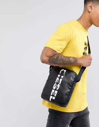 Diesel F-BOLD Logo Cross Body Flight Bag