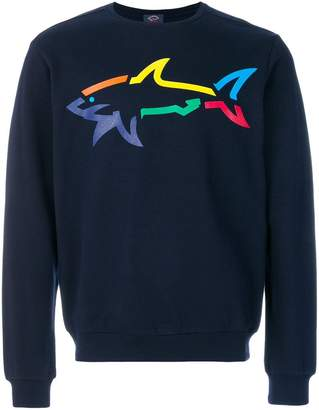 Paul & Shark printed shark sweatshirt