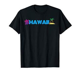 IDEA Hawaii T-Shirt Surfer Aloha Honolulu Gift Retro