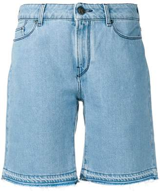 Karl Lagerfeld Paris knee length denim shorts