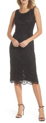 Pisarro Nights Lace Mid Dress