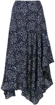 Stella McCartney moon and star print skirt