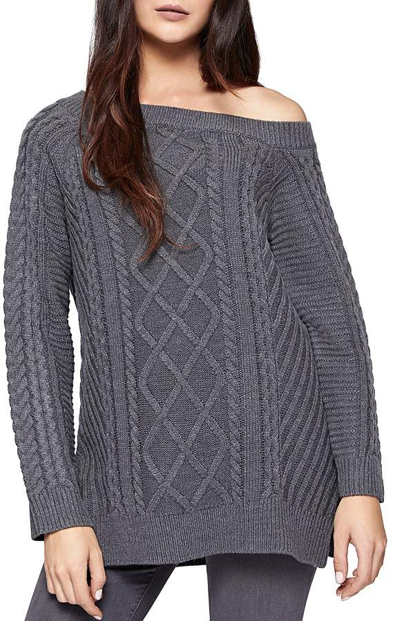 Sanctuary Tinsley Off-The-Shoulder Sweater