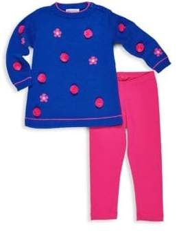 Florence Eiseman Little Girl's & Girl's Two-Piece Sweater & Leggings Set