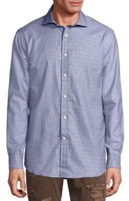 Ralph Lauren Blue Label Plaid Button-Down Shirt