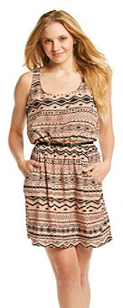 GUESS Geo Stripes Pocket Dress