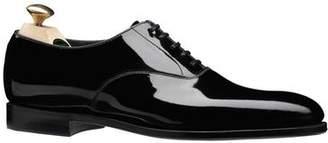Crockett Jones Crockett & Jones Crockett and Jones Overton Black Tie Shoe in Black