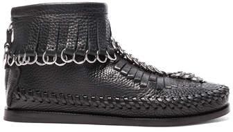 Alexander Wang Leather Montana Boots