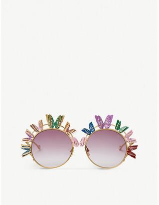cb5931a432b3 ANNA KARIN KARLSON The Butterfly round-frame sunglasses